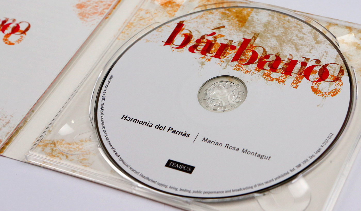 diseño carátula y librito interior cd música