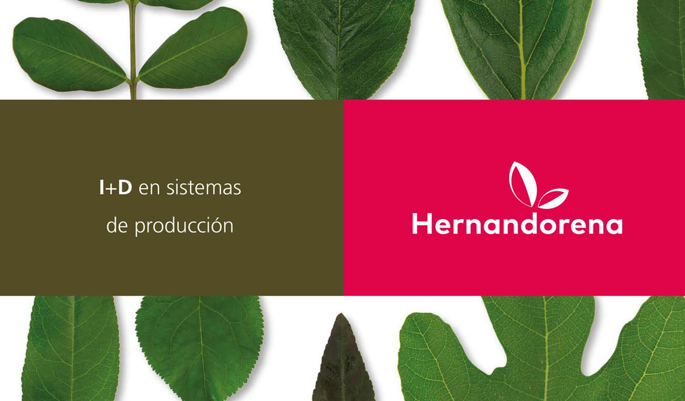 Diseño de marca Viveros Hernandorena