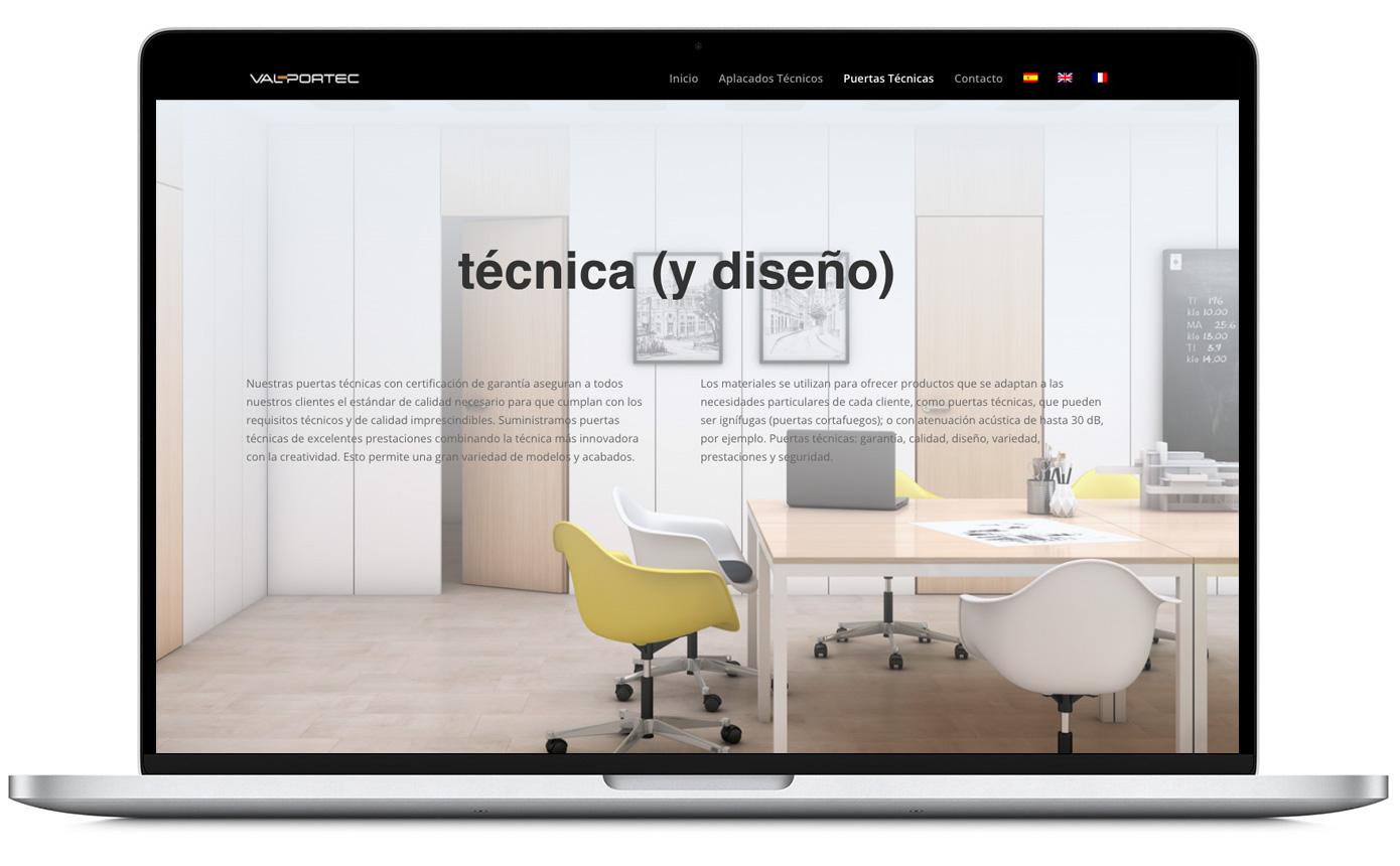 Diseño de página web en Valencia